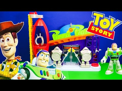 TOY STORY Disney Toy Story Imaginext Pizza Planet Toy Story Video Toy Review
