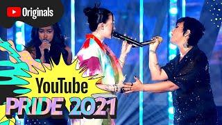 Demi Lovato \\u0026 Noah Cyrus - Easy (Live at YouTube Pride 2021)