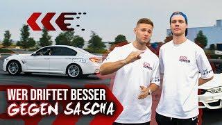 Wer driftet besser gegen Sascha | Youtuner