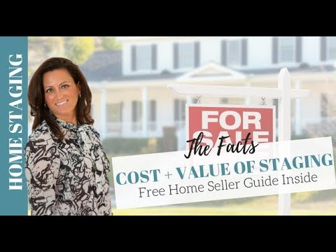 Home Staging: The Cost + Value of Staging a Home for Sale   A Real Estate Agent's Guide