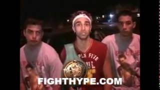 (EPIC TBT) PAULIE MALIGNAGGI WARNED YOU TO GET USED TO HIM GETTING ON YOUR NERVES FOR A LONG TIME