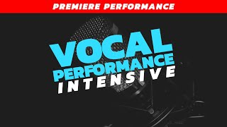 Vocal Performance Intensive:  Rodgers and Hammerstein - Premiere Performance