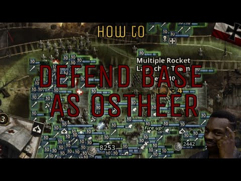Defend Base As Ostheer | How To [Road To Valor WWII]