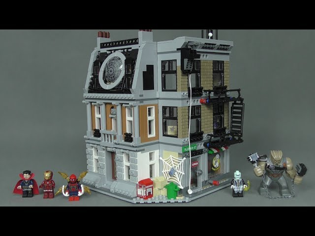 Recenzja LEGO Super Heroes - Zestaw 76108 - Sanctum Sanctorum Showdown