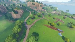 FORTNITE GRANDE FUITE! LEAKY LAKE ÉNORME HOLE IN THE MIDDLE! GLITCHED LEAKY LAKE