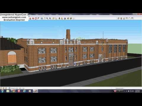 Brewster Douglas Housing Projects Detroit (Virtual Tour In Sketchup)