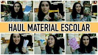 HAUL MATERIAL ESCOLAR | Christine Hug