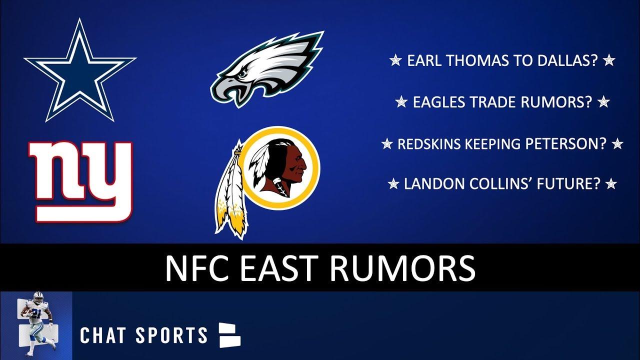 9fb13bde078 NFC East Rumors: Eagles Trade Rumors, Redskins Keeping Peterson ...
