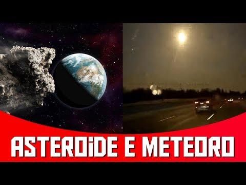 Asteroide Grande Passará pela Terra em Fevereiro - Meteoro cai nos EUA e Gera Abalo | AstroPocket