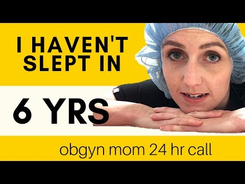 24HR OBGYN CALL | WHO WAKES ME UP MORE? - NURSES/PATIENTS Vs 4 KIDS  - A VLOG STORY