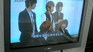 [CAM-RIP/CUT] SHINee at Japan interview and game