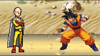 One Punch Man vs Goku