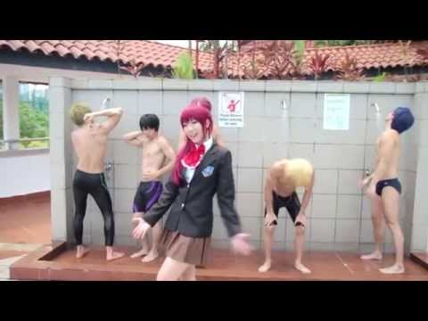 Fantasy Boyfriends! (How To Be A Heartbreaker - Free! Cosplay MV Parody)