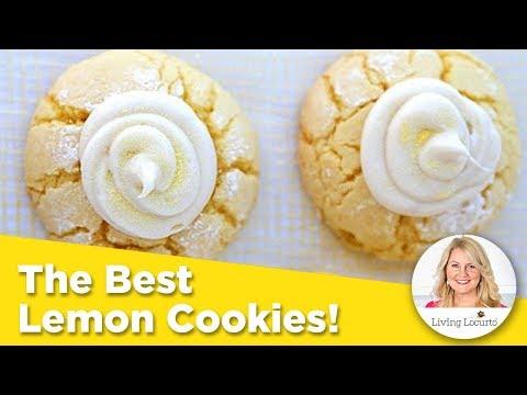 THE BEST LEMON COOKIES! Easy Cake Mix Cookie Recipe
