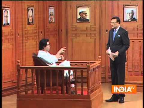 People show wrong translation of my Marathi speech: Raj Thackeray in Aap Ki Adalat