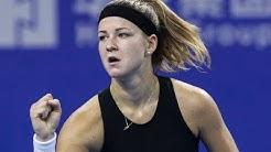 Sofia Kenin vs. Karolina Muchova | 2019 Zhuhai Round Robin | WTA Highlights