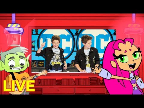 🔴Live! #StayHome With Teen Titans Go! And DC Kids Show | DC Kids