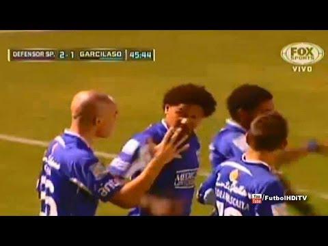 Gol de Felipe Conceição - Defensor Sporting 4 - Real Garcilaso 1 (Copa Libertadores 2014)