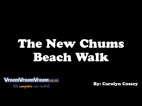 How To Find New Chums Beach, New Zealand