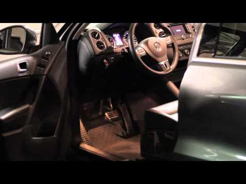 VW Footwell Lights Demo. Fits: Golf, GTI, Jetta, Passat, Tiguan, Touareg