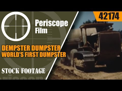 DEMPSTER DUMPSTER WORLD'S FIRST DUMPSTER WASTE MANAGEMENT PROMO FILM 42174