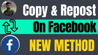 How to copy and repost on Facebook 2021