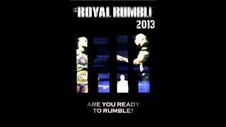 WWE Royal Rumble 2013 Custom Poster and Theme Song