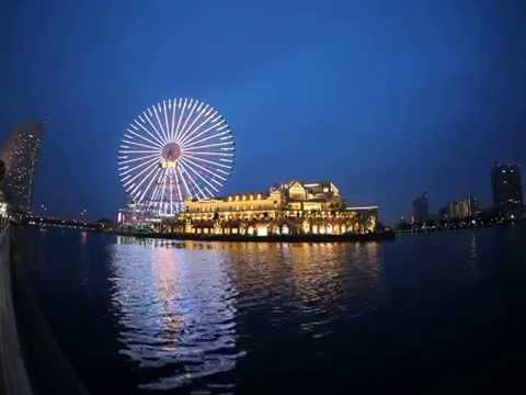 Minato Mirai 21 by night