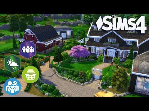 The Sims 4 - Let's Build a Farm with Only 4 Packs!? (Part 8) Realtime - 동영상