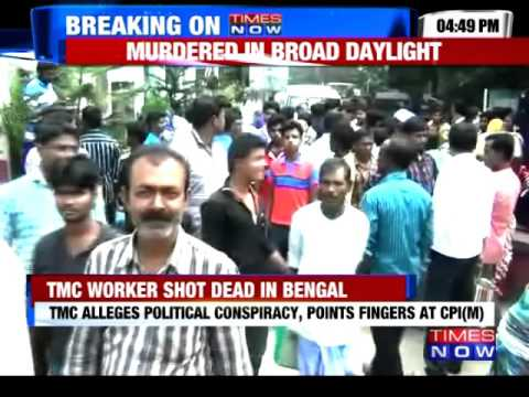 TMC Worker Shot Dead in Pargana, West Bengal