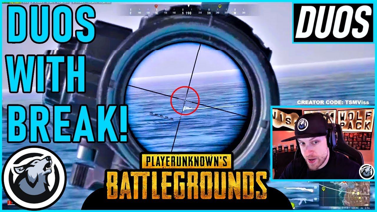 VISS DUOS WITH BREAK! PLAYERUNKNOWN'S BATTLEGROUNDS thumbnail