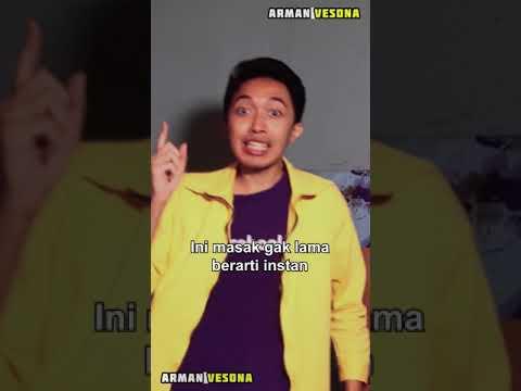 Download ♫ Mie Instan, emang instan? - #Shorts #ArmanVesona