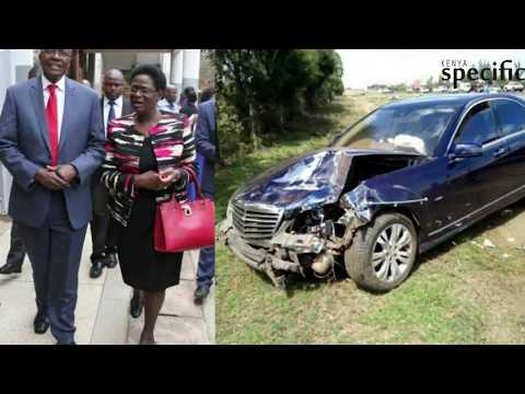Kenya news today | CJ Maraga, wife in hospital following road accident
