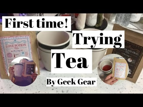 🍵Trying Tea for the First time! day2091