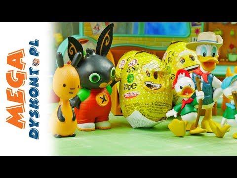 Sklep z Jajkami - Bing & Jajka Niespodzianki Emoji & Kaczor Donald - Bajki dla dzieci i unboxing