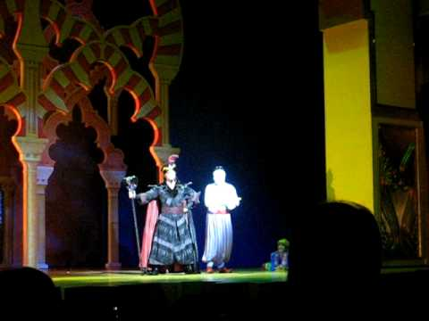 Aladdin: A Musical Spectacular -- Boo, boo, yay!