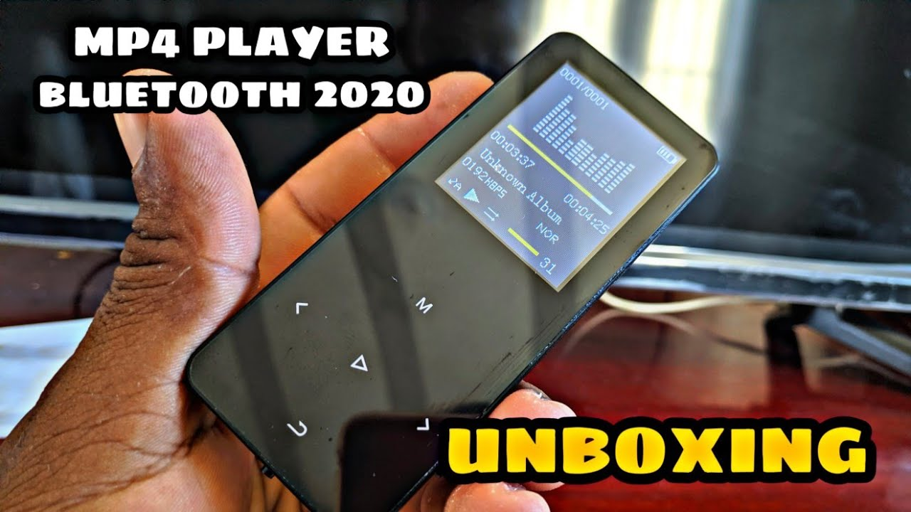 Download UNBOXING MP4 PLAYER BLUETOOTH - IQQ NOVO MODELO TENGSENX3 BR
