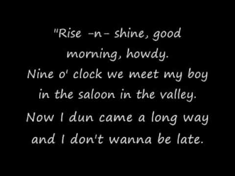 Bone Thugs N Harmony - Ghetto Cowboy Lyrics