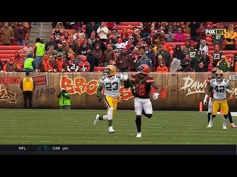 Josh Gordon vs Damarious Randall (2017) | WR vs CB Highlights