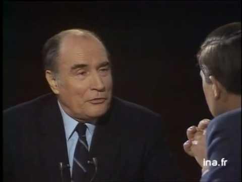 Mitterrand cartes sur table 1981