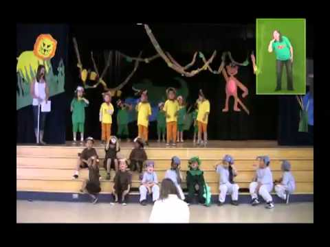 The Story of the Wide Mouthed Frog  A Musical Play for Children to Perform