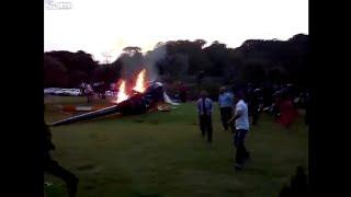 Helicopter carrying Bride👰 CRASH lands in Brazil - LiveLeak