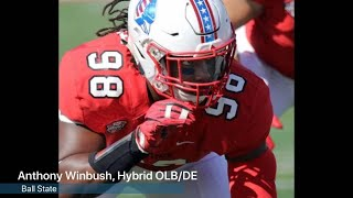 Watch: Ball State's Anthony Winbush is a sleeper NFL draft pick thumbnail