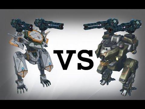 Ao Jun (viper) vs Bulwark (viper) Test   War Robots