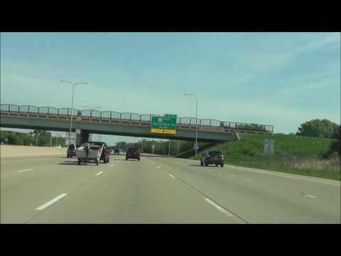 Illinois - Interstate 290 West - Mile Marker 10 to 0 (5/21/16)