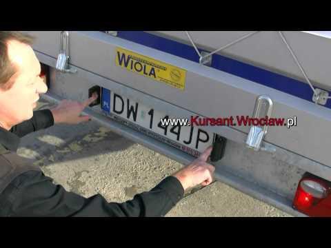 Film instruktażowy ze sprzęgania i rozprzęgania przyczepy E/B