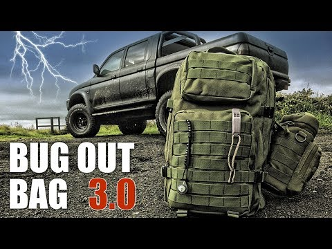Bug Out Bag and Contents (All New)