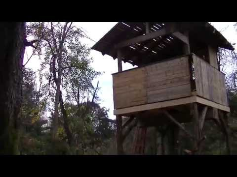 "PALLET TREE HOUSE Made from FREE PALLETS ""building with pallets"""