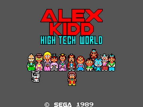 Master System Longplay [048] Alex Kidd: High-Tech World