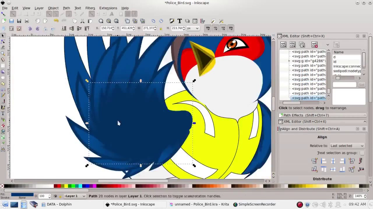 Best free drawing software: Inkscape Review